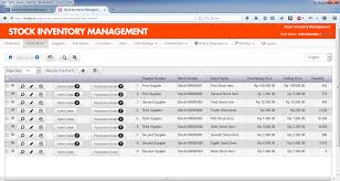 Inventory Control List Inventory Control List