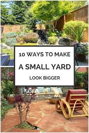 backyards modern 8 ways to make your small yard look bigger