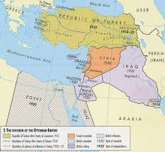 Post Ww1 Map Division Of Ottoman Empire After Wwi Mrdewarecms Flickr