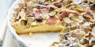 cuisine rhubarbe tarte à la rhubarbe thermomix facile et pas cher recette sur