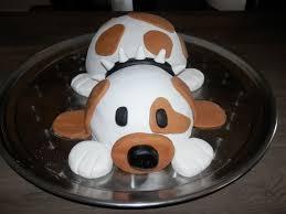 gateau anniversaire animaux gâteau chien un amour de cuisine