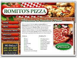 affordable restaurant website design