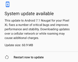 update android on with android nougat s seamless update on the pixel