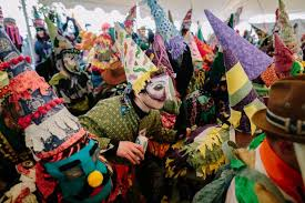 traditional cajun mardi gras costumes the courir de gras the rural cajun mardi gras