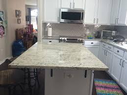 kitchen island granite countertop white granite countertops installation kitchen
