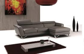 Sofa Casa Leather Sparta Mini Gray Italian Leather Sectional Sofa Casa Eleganza In