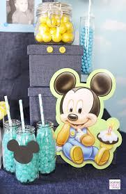 baby mickey 1st birthday baby mickey mouse 1st birthday happy birthday accessories