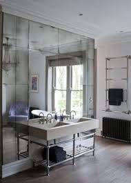 mirror tiles for bathroom walls get an expensive look in your bathroom for very little money one