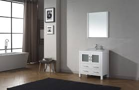 36 Inch Bathroom Vanity Virtu Usa Dior 32 Single Bathroom Vanity Set In White Bathtubs Plus