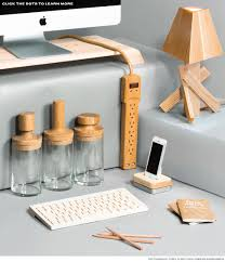 Wood Desk Accessories And Organizers Go With The Grain Desk Accessories Made Of Wood Desk Accessories