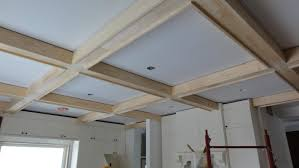 decorations coffered ceiling living room design home decor ideas