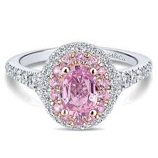 engagement rings pink images Pink sapphire engagement rings gabriel co jpg