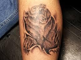 ripped skin angry design tattooshunt com