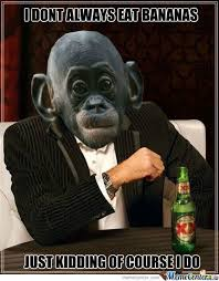 Funny Monkey Meme - monkey and bananaz by c2mmic meme center