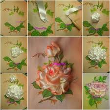 silk satin ribbon wonderful diy pretty embroidery silk ribbon