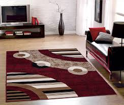 Area Rug Size For Living Room by Contemporary Home Modern Circles Design Living Room Bedroom Area