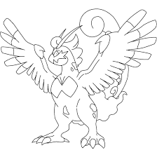 tornadus lineart therian forme by kasanelover on deviantart