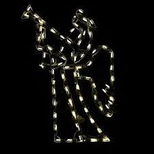 Outdoor Christmas Decor Angels by Lighted Outdoor Decorations Lighted Angel Decorations