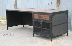 vintage industrial desk u2013 furniture pertaining to attractive home