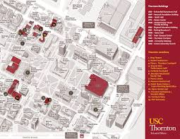 San Francisco State University Map by University Of Southern California Map California Map