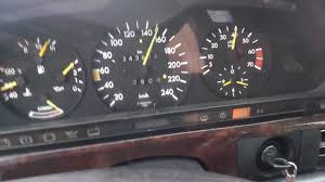mercedes w126 500 se acceleration 0 180 youtube