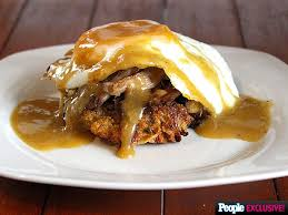 thanksgiving leftovers recipe turkey eggs benedict
