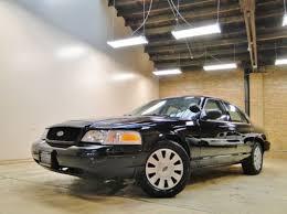 buy used 2010 crown vic p71 police black 94k miles tan interior