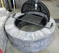 rumblestone fire pit insert articles with rumblestone square fire pit home depot tag