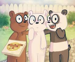 bears delivery we bare bears pizza delivery by diamondmuffins on deviantart