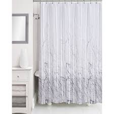 Better Homes Shower Curtains by White Shower Curtain Interdesign Leaves Shower Curtain Better