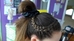gymnastics picture hair style 4 hairstyle ideas for gymnastics everyday gymnastics youtube