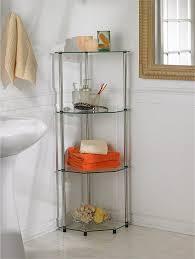 review of glass based bathroom corner shelves 4 tier glass corner shelf