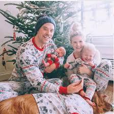 family matching pajamas baby