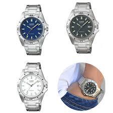 Negara Pembuat Jam Tangan Casio jam tangan casio original mtp 1244 d series elevenia
