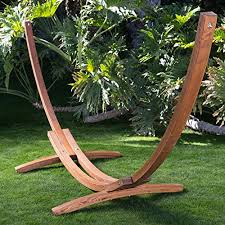 algoma 15 feet russian pine wood arc spreader bar hammock stand