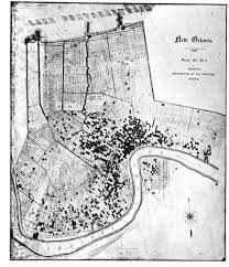 New Orleans City Map by Yellow Fever Cases In New Orleans 1905 U201cthe Infected Blocks Are