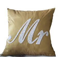 mr and mrs pillows mr mrs pillows decorative pillows throw pillows wedding pillows