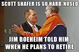 Syracuse Meme - syracuse football coach scott shafer is so hard nosed that