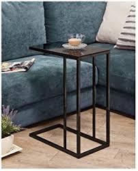 sofa c table amazon com altra crane glass top c table black kitchen u0026 dining