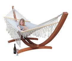 wooden hammock stand hammocks australia curved hammock frame
