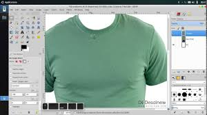tutorial how to create t shirt mockup in gimp youtube