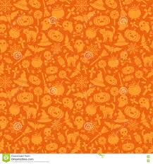 halloween background pumpkin halloween seamless pattern orange background stock vector image
