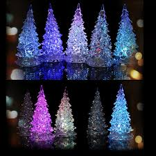 18 7 5cm 7 colors changing acrylic tree led