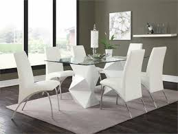 Black And White Dining Room Sets Glass Top Dining Sets U2013 Lasvegasfurnitureonline Com
