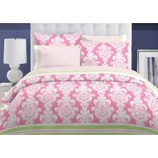 Pink Bedding Sets Tommy Hilfiger Pink Comforter Set Damask Comforters