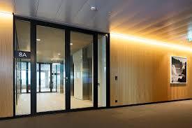 fire resistant glass doors skykey business center zürich forster profilsysteme ag arbon