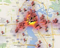 Jacksonville Map Jacksonville Map Maps Jacksonville Florida Usa