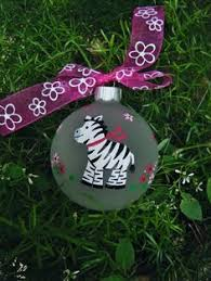 recycled light bulb ornament zebra 7 00 s h my crafts