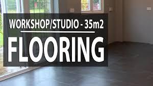 Interlocking Laminate Floor Tiles Workshop Studio Flooring How To Install Ecotile Interlocking