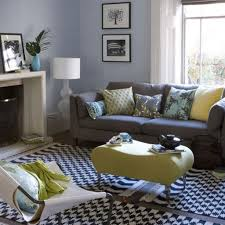 fresh ideas for decorating with blue and white best grey sofa